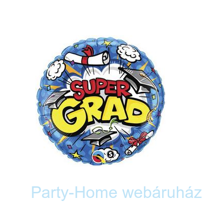 Super Grad Ballagási Fólia Léggömb