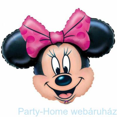 Minnie Mouse Mini Shape Fólia Lufi pálcás