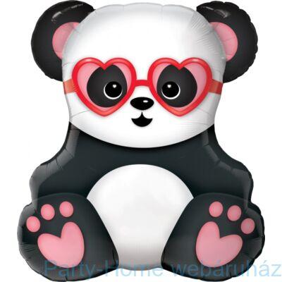 32 inch-es Lovestruck Panda Bear Szerelmes Fólia Lufi