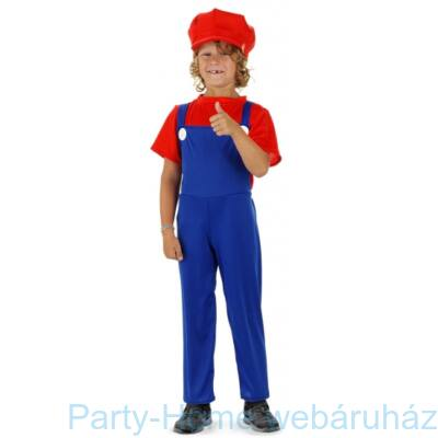Super Mario Jelmez Gyerekeknek - M-es