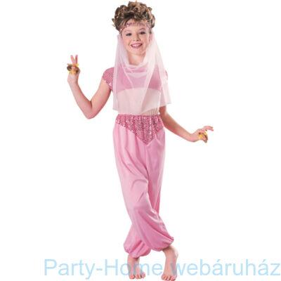 Rózsaszín Hastáncos Jelmez Gyerekeknek, S-es
