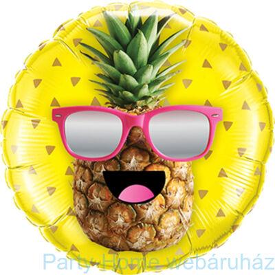 18 inch-es Mr. Cool Pineapples Fólia Lufi