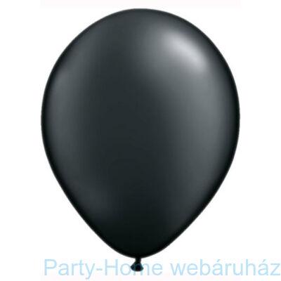 11 inch-es Pearl Onyx Black Kerek Lufi 1 db