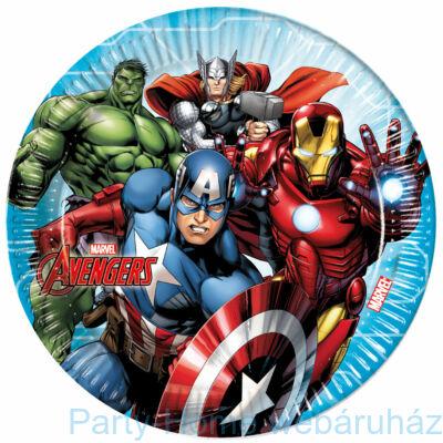 Bosszúállók - Marvel Avengers Party Tányér - 23 cm, 8 db-os