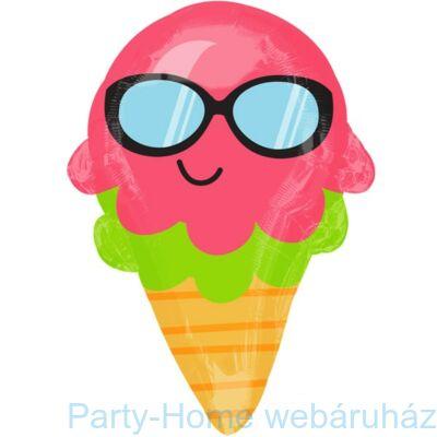 Nyári Napszemüveges Tölcséres Fagyi - Ice Cream Cone Junior Shape