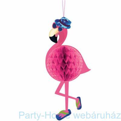 Flamingó Függődekoráció