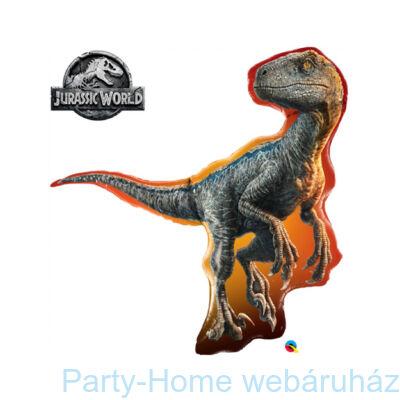 38 inch-es Jurassic World - Raptor Fólia Lufi