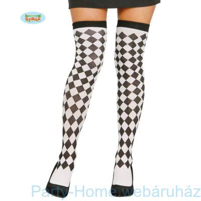 Harlequin Fekete - Fehér Combfix