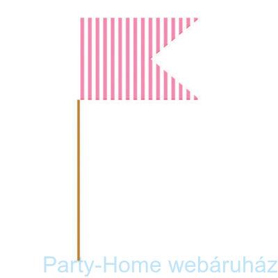 Muffin / Szendvics  beszúró, rózsaszín 24 db-os