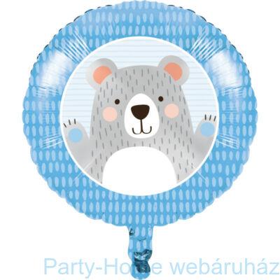 18 inch-es1st Birthday Bear - Mókás Mackó Szülinapi Fólia Lufi