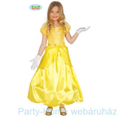 Belle Hercegnő Jelmez Kislányoknak 3 - 4 éveseknek
