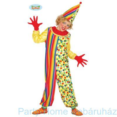 Bohóc Jelmez Gyerekeknek 5 - 6 éveseknek