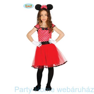 Minnie Egér Jelmez Kislányoknak 7 - 9 éveseknek