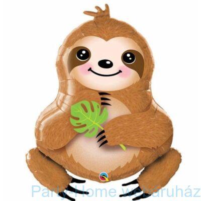 39 inch-es Lajhár - Sweet Sloth Fólia Lufi