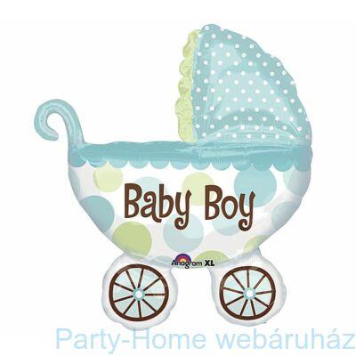 Baby Buggy Boy - Kisfiús Super Shape Fólia Lufi Babaszületésre