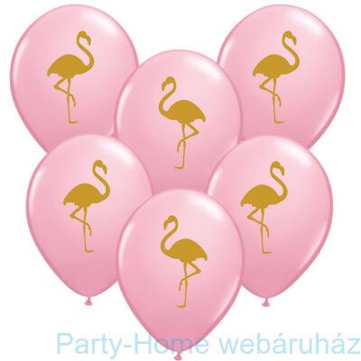 11 inch-es Flamingo Pink Lufi 1 db