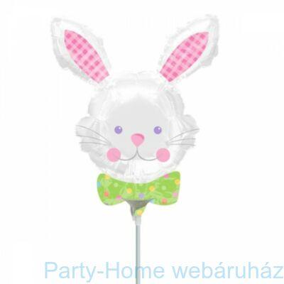 Happy Hop Bunny Fólia Lufi pálcás