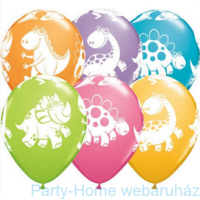 11 inch-es Cute and Duddly Dinosaurs - Dínós - Assortment Lufi 1 db