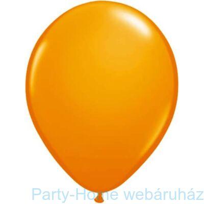 16 inch-es Orange - Narancssárga (Standard) Kerek Lufi 1 db