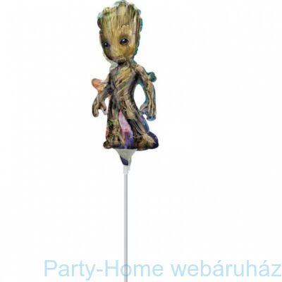 14 inch-es Galaxis Őrzői - Baby Gru Pálcás Fólia Lufi