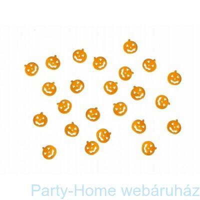 Narancssárga Tökfejek Konfetti Halloweenre - 15 gramm