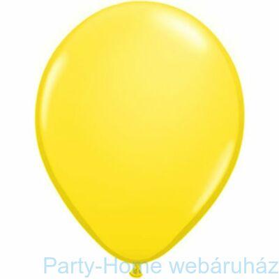 16 inch-es Yellow - Sárga (Standard) Kerek Lufi 1 db