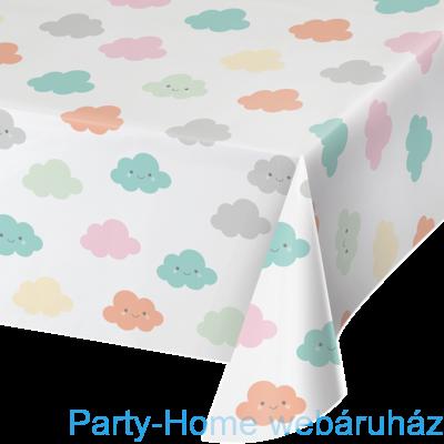 Mosolygó Felhőcske Party Asztalterítő - 137 cm x 259 cm
