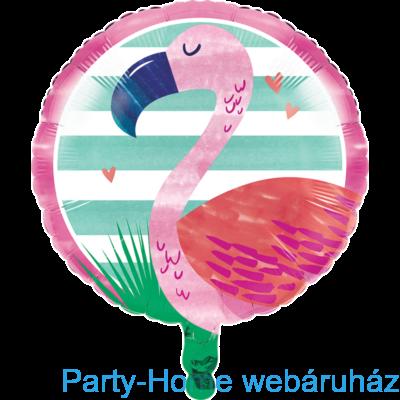 Flamingó & Ananász Party Fólia lufi 18-inch