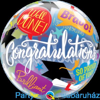 22 inch-es Graduation Accolades Bubble Lufi