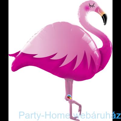 46 inch-es Pink Flamingo Super Shape Fólia Lufi