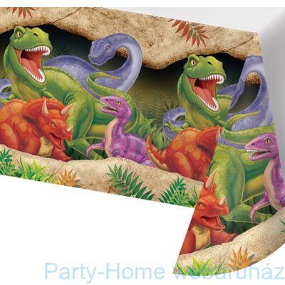 Dinoszaurusz parti asztalterítő 137 x 274 cm
