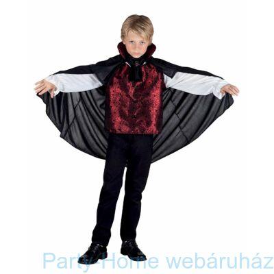 Fekete Vámpír Kosztüm gyerek 4-6 éveseknek
