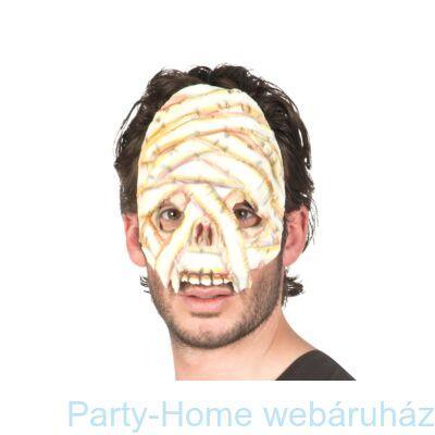 Félelmetes Múmia Latex Maszk Halloween-ra