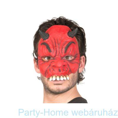 Piros Ördög Latex Maszk Halloween-ra