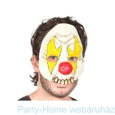 Őrült Bohóc Latex Maszk Halloween-ra