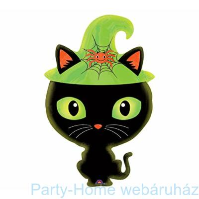 Black Kitty Junior Shape Fólia Lufi
