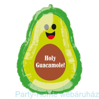 27 inch-es Holy Guacamole! Avokádó Super Shape Fólia Lufi