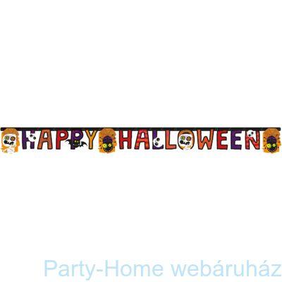Friendly Mummy Halloween Betűfüzér 1,8 m