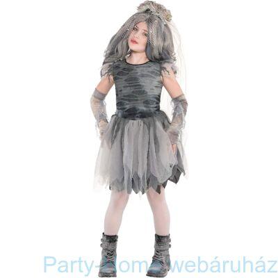 Zombie Női Jelmez 8-10 éveseknek
