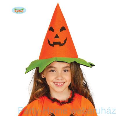 Narancssárga Tökös Kalap Gyerek méret