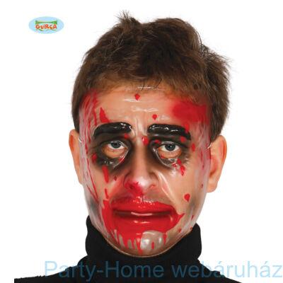 Véres Transzparens Férfi Maszk