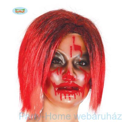 Véres Transzparens Női Maszk