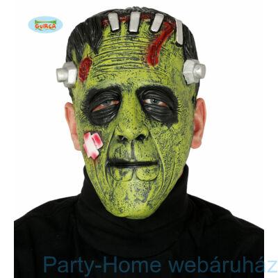 Zöld Szőrny Latex Maszk