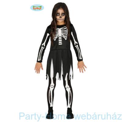 Csontváz Jelmez Lányoknak 7 - 9 éveseknek