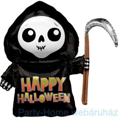 27 inch-es Halloween Grim Reaper SuperShape Fólia Lufi