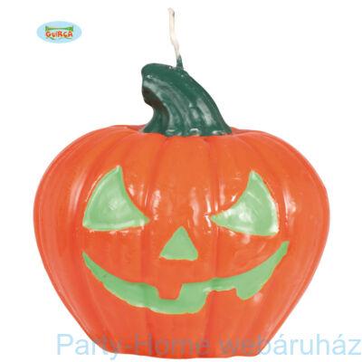 Halloween Tök Gyertya - 10 cm-es