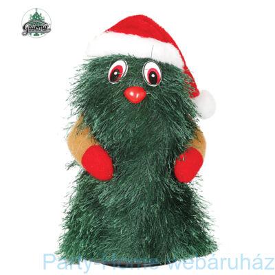Éneklő - Táncoló Karácsonyfa 20 cm-es