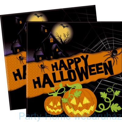 Happy Halloween Tökös szalvéta - 33 x 33 cm, 20 db