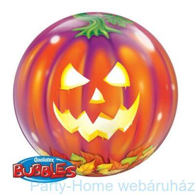 Jack O'Lantern Tökfej Bubble Lufi Halloweenre