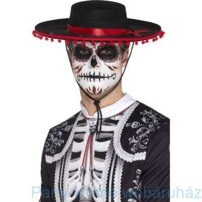 Day Of The Dead Fekete Kalap